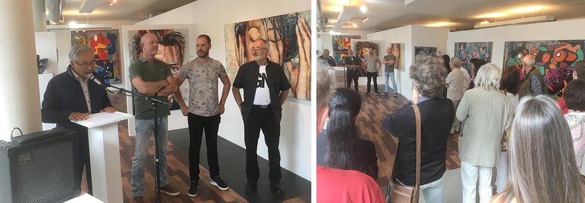 Opening Expositie Juni 2019 Kunstation Uden