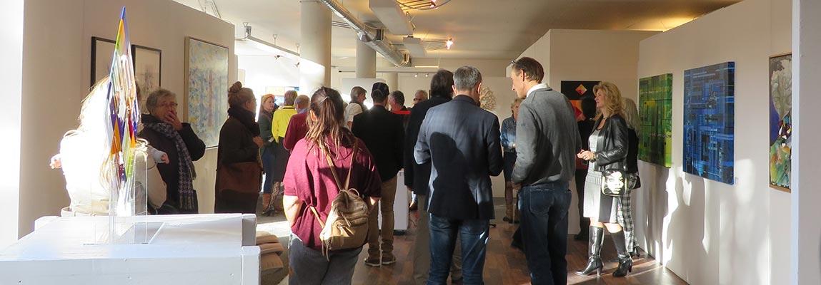 Opening Mondriaan okt 2017 kunstation uden