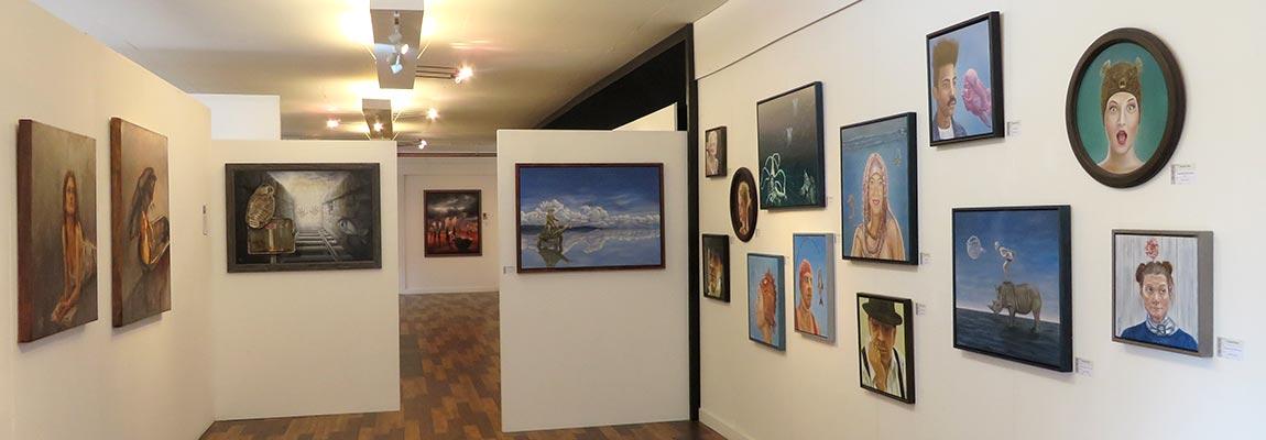 Opening ecpositie realisten Kunstation Uden