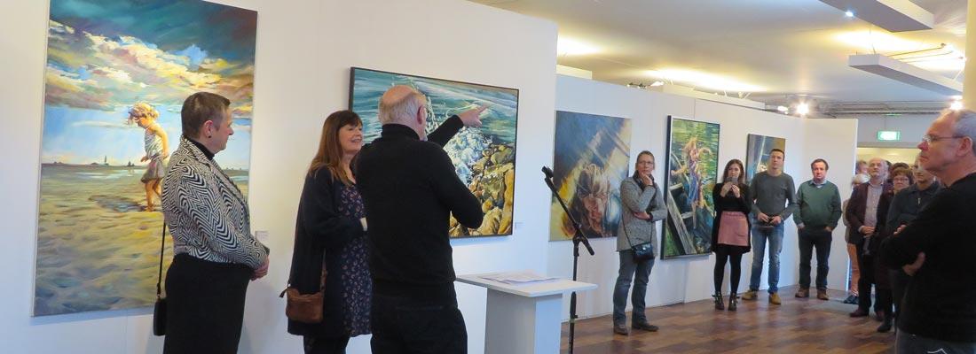 Opening expo jan 2019 Kunstation Uden