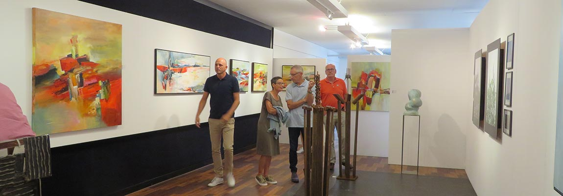 Opening expo juni 2018 kunstation uden