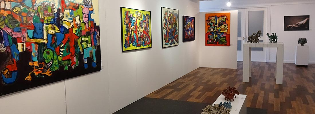 Opening expo maart 2018 kunstation uden