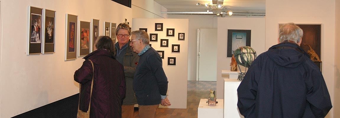 Opening expositie Maart 2019 kunstation Uden