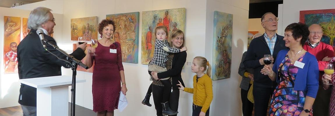 Opening expo jan 2020 Kunstation Uden
