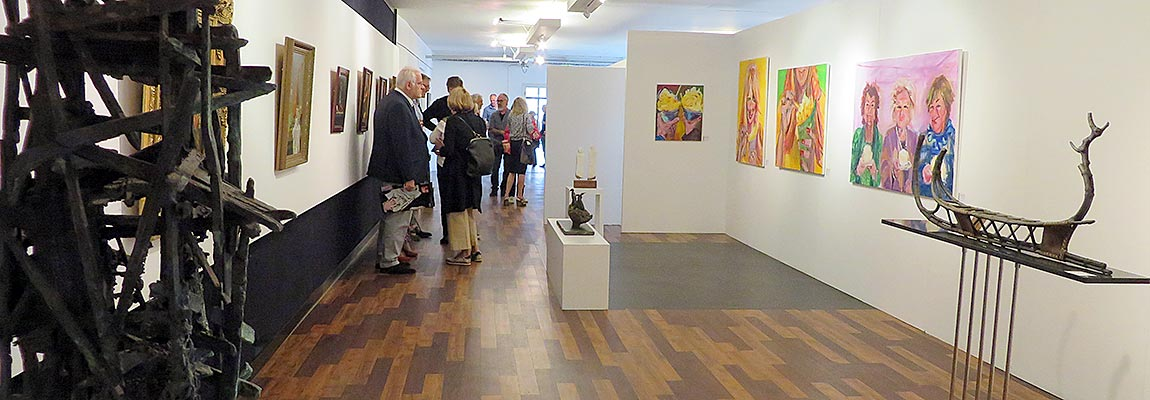 Opening expo juni 2016 kunstation uden
