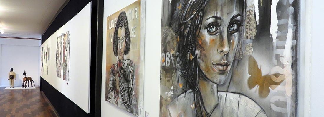 Opening expo juni 2017 kunstation uden