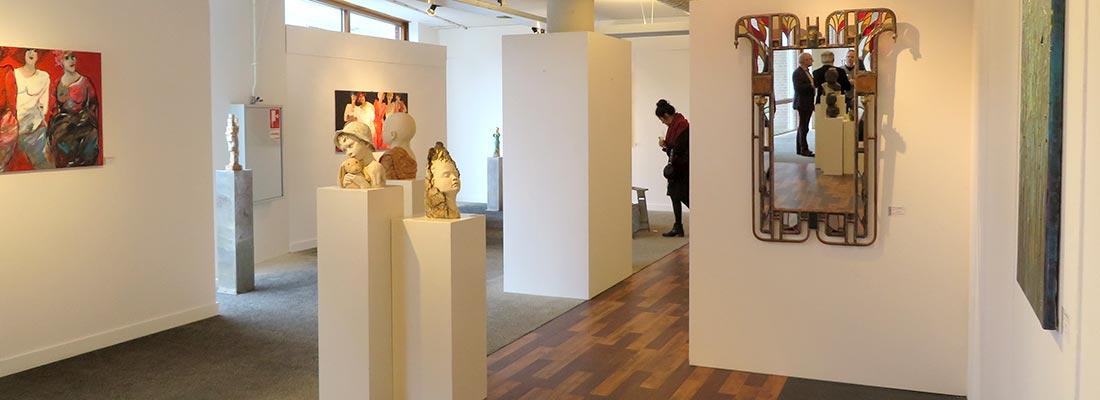 Opening expo maart 2017 kunstation uden