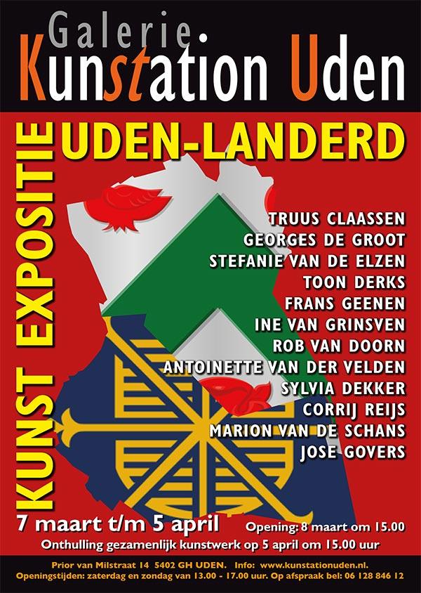 Poster Kunstation Uden